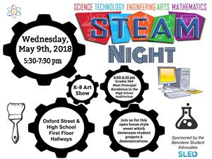 STEAM Night flier
