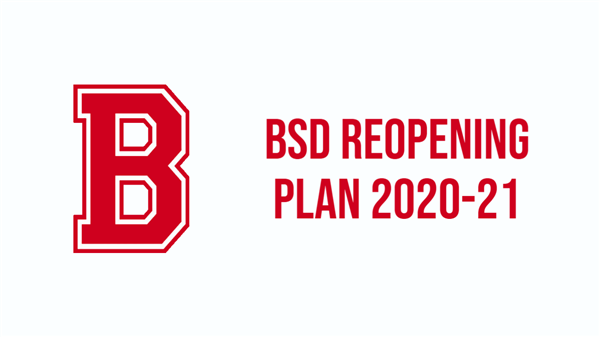 UPDATED 8/11/2020: Belvidere School District Reopening Plan 2020-21
