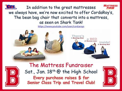 mattress sale flier